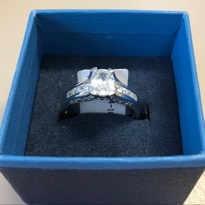 Jewelry - White Cubic Zirconia Sterling Silver 2.18CTW